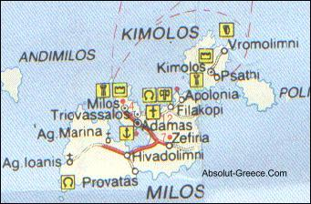 Cyclades MapsAbsolutGreeceMaps of AmorgosAndrosIkarisIos